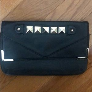 LEATHER STUDDED GOING OUT BAG
